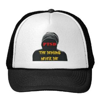 PTSD: THE DEMONS NEVER DIE TRUCKER HAT