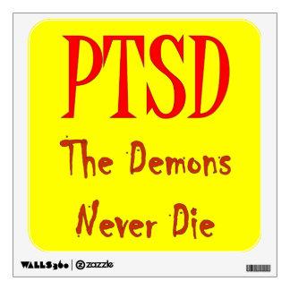 PTSD WALL STICKERS