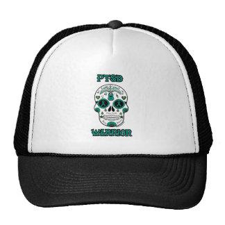 PTSD WARRIOR sugar skull Trucker Hat