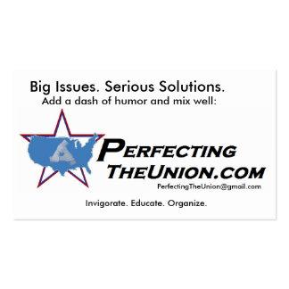 PTU Logo Business Card