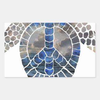 Pturtle.png Rectangular Sticker