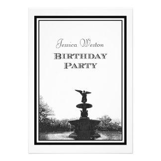 Pty del cumpleaños del grabado de pistas de Bethes Comunicados Personalizados