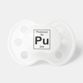 Pu - Plutonium Pacifier