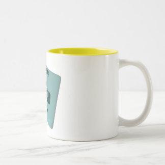 Pu Plutonium Two-Tone Coffee Mug