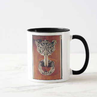 P'u shou' door knocker with a taotie design mug