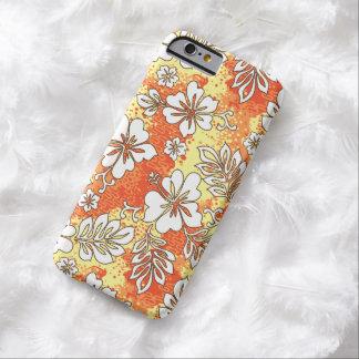 Pua Aloha Hawaiian Heart Shaped Hibiscus Barely There iPhone 6 Case
