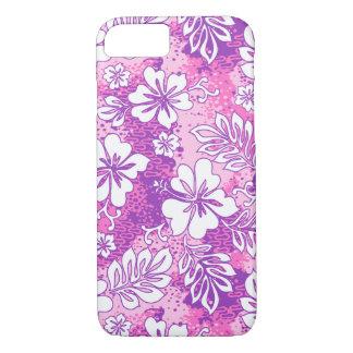 Pua Aloha Hawaiian Heart Shaped Hibiscus iPhone 7 Case