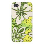 Pua Aloha Heart Hibiscus  iPhone 4/4S Cases