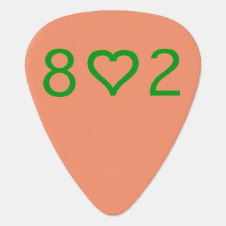 Púa de guitarra 802