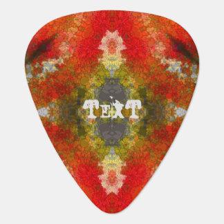 Púa de guitarra de alta calidad del personalizado