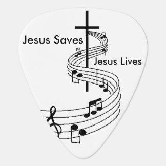 Púa de guitarra de Jesús
