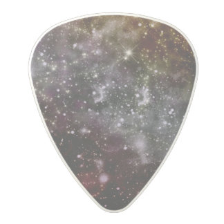 Púa de guitarra de la galaxia púa de guitarra de policarbonato