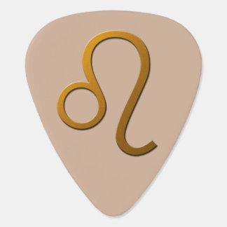 Púa de guitarra de Leo