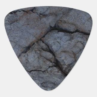 Púa de guitarra de piedra del modelo