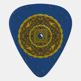 Púa de guitarra del Capricornio