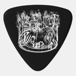 Púa de guitarra del triángulo de Bael