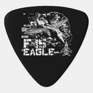 Púa de guitarra del triángulo de F-15 Eagle