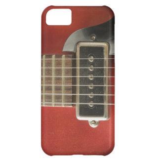 Púa de guitarra eléctrica del vintage rojo para ar