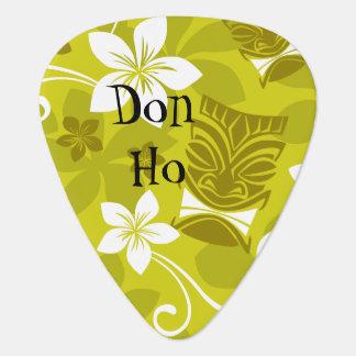 Púa de guitarra modelada Hawaiian de Tiki