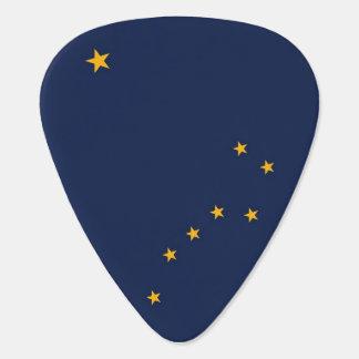 Púa de guitarra patriótica con la bandera del