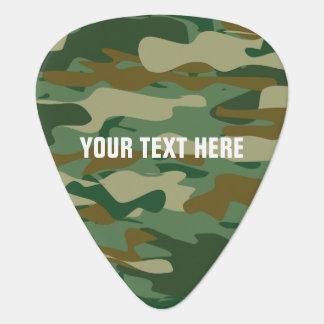 Púa de guitarra personalizada del color del