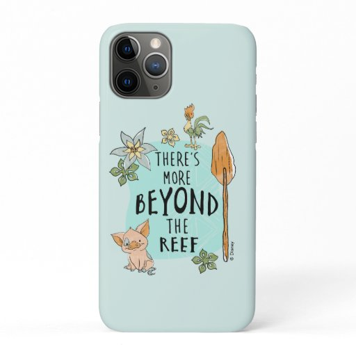 """Pua & Hei Hei """"There's More Beyond The Reef"""" iPhone 11 Pro Case"""