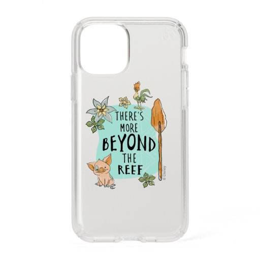 """Pua & Hei Hei """"There's More Beyond The Reef"""" Speck iPhone 11 Pro Case"""