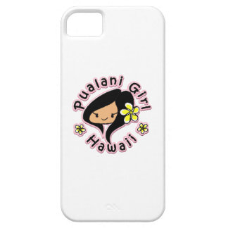 Pualani Girl Hawaii - iPhone 5 Case