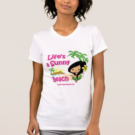 Pualani Girl Hawaii - Ladies Scroop Casual Shirt