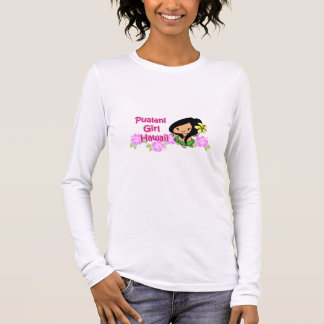 Pualani Girl Hawaii - Long Sleeve T Long Sleeve T-Shirt