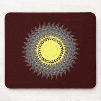 Púas círculo spikes circle mousepads