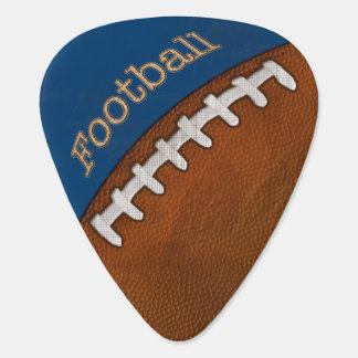 Púas de guitarra adaptables del fútbol su color plumilla de guitarra