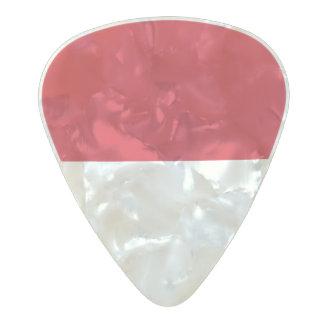 Púas de guitarra de Indonesia Púa De Guitarra Celuloide Nacarado