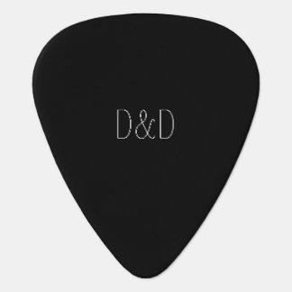 Púas de guitarra del estándar/del triángulo del plectro