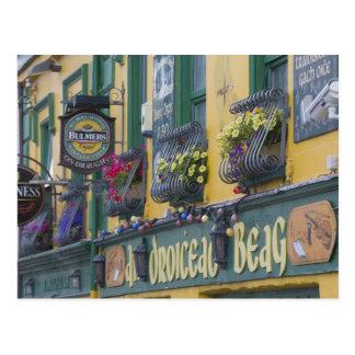 Pub, cañada, península de la cañada, condado Kerry Tarjeta Postal
