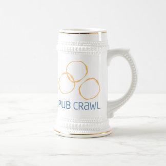 Pub Crawl Beer Mug