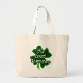 Pub Crawl Champion Tote Bag