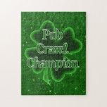 Pub Crawl Champion Jigsaw Puzzle