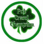 Pub Crawl Champion Photo Sculptures