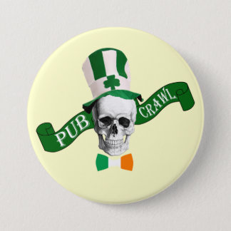 Pub crawl St Patrick's day Pinback Button