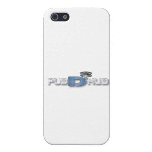 Pub-D-Eje iPhone 5 Carcasa