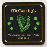 Pub de encargo del irlandés del apellido de la arp posavaso