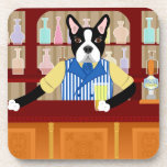 Pub de la cerveza de Boston Terrier Posavasos De Bebidas