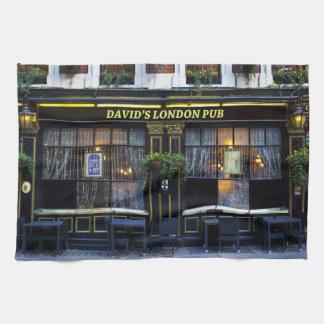 Pub de Londres de David Toallas De Mano