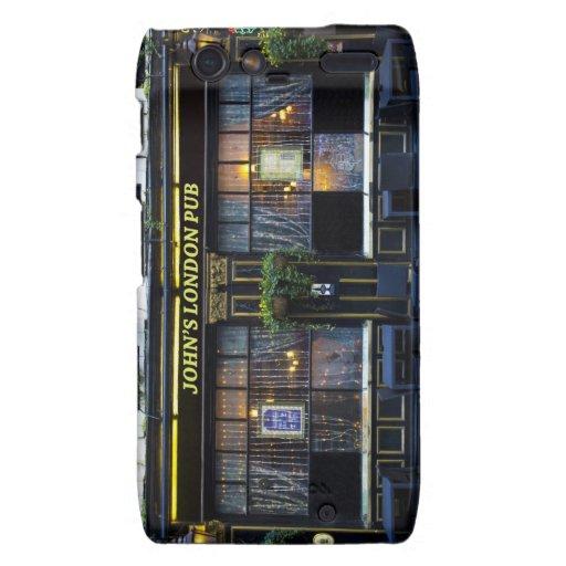 Pub de Londres de Juan Droid RAZR Fundas