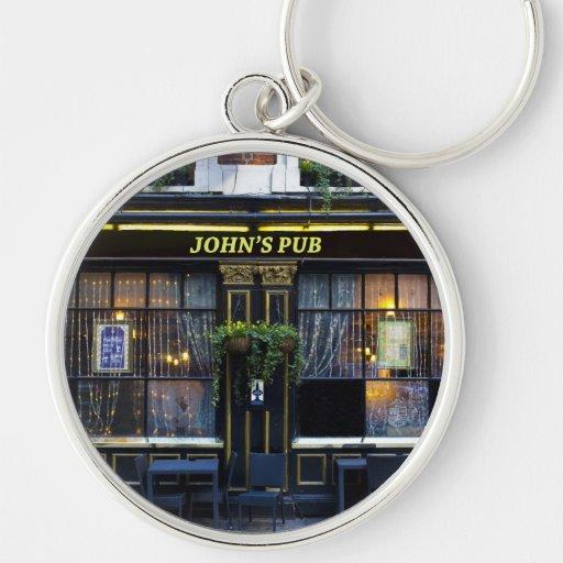 Pub de s de Juan '' Llavero Personalizado