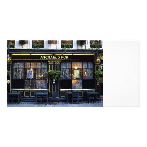 Pub de s de Michaels '' Tarjeta Personal