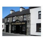 Pub del Gus O'Connor en Doolin Irlanda Postal