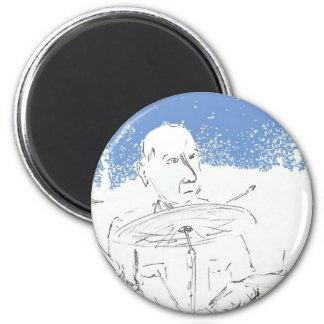 Pub Drummer.jpg Imán Redondo 5 Cm