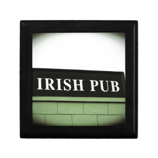 Pub irlandés cajas de regalo
